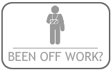 click to view off work page icon