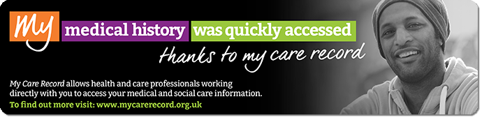 my care record banner